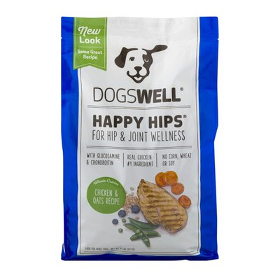 Dogswell Happy Hips Chicken & Oats Recipe Food for Adult Dogs