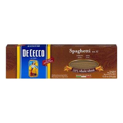 De Cecco Spaghetti No. 12 100% Whole Wheat