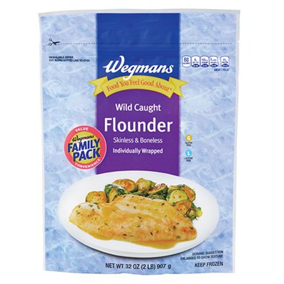 Wegmans Wild Caught Flounder, FAMILY PACK