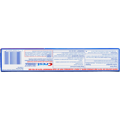 Crest Toothpaste Cavity Protection Cool Mint Gel