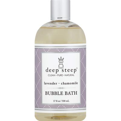 Deep Steep Bubble Bath, Lavender-Chamomile