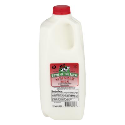 Pride of the Farm Vitamin D Milk