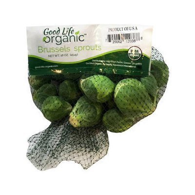 Good Life Food Organic Brussels Sprouts