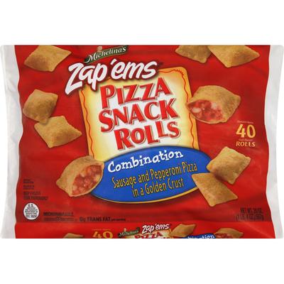 Michelina's Pizza Snack Rolls, Combination, Zap Éms