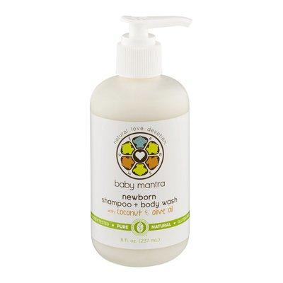 Baby Mantra Newborn Shampoo + Body Wash with Coconut & Olive Oil