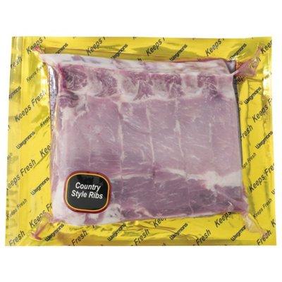 Wegmans Bone-In Country Style Pork Ribs