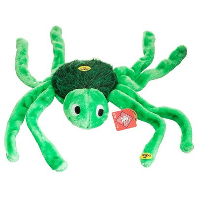 Plush Puppies Jumbo Character Series Spunky The Spider Dog Toy