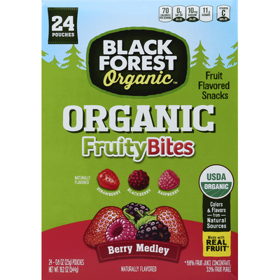 Black Forest Fruity Bites, Berry Medley