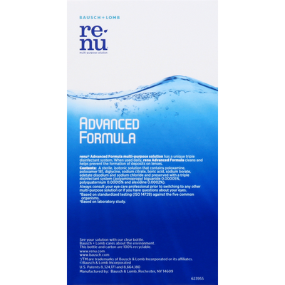 ReNu Multi-Purpose Solution, Advanced Formula, Travel Kit