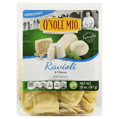 O Sole Mio Ravioli, 4 Cheese