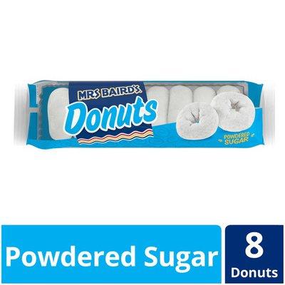 Mrs. Baird's Powdered Sugar Donuts