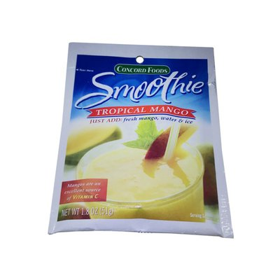 Concord Foods Smoothie Mix, Tropical Mango