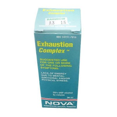 Nova Homeopathic Exhaustion Complex