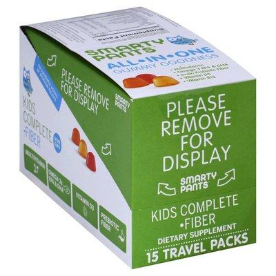 SmartyPants Kids Complete Fiber, Travel Packs