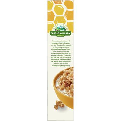 Cascadian Farm Organic Granola, Oats and Honey Cereal