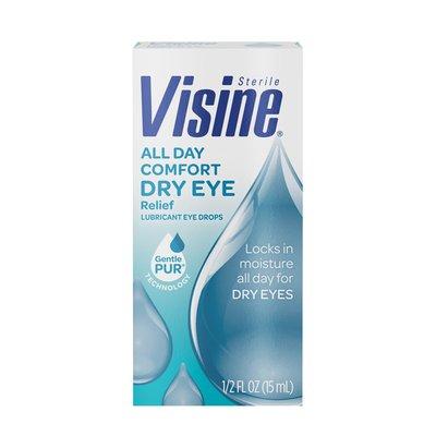 VISINE All Day Comfort Dry Eye Relief Eye Drops
