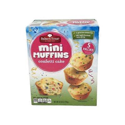 Baker's Treat Mini Party Cakes