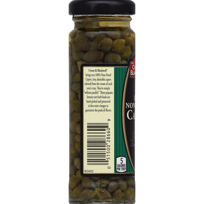 Crosse & Blackwell Capers, 100% Non-Pareil