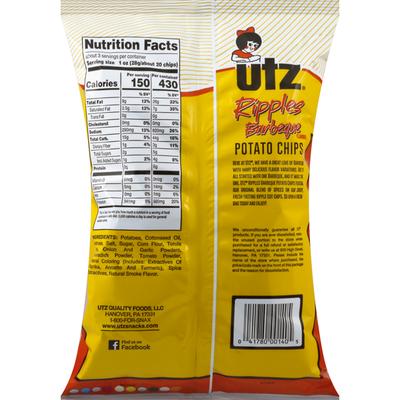 Utz Potato Chips Barbeque