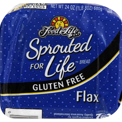 Food for Life Bread, Gluten Free, Flax