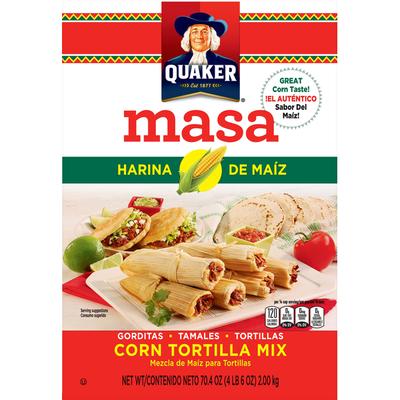 Quaker Masa Harina De Maiz Corn Tortilla Mix