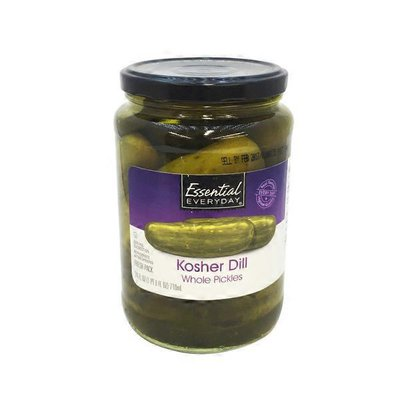 Essential Everyday Whole Pickles Kosher Dill