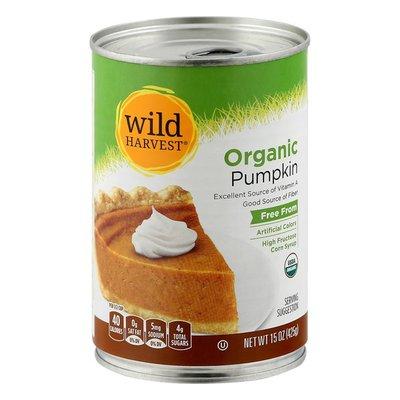 Wild Harvest Pumpkin, Organic