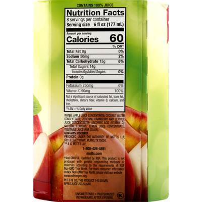 Mott's Sensibles Apple Cranberry Juice