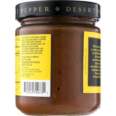 Desert Pepper All Natural Black Bean Dip Spicy