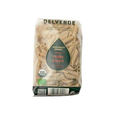 Delverde Penne Rigate, Organic, Whole Wheat, No. 145