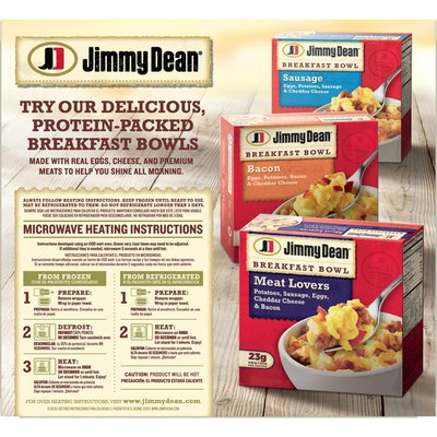 Jimmy Dean Frozen Sausage, Egg & Cheese Croissant Breakfast Sandwich