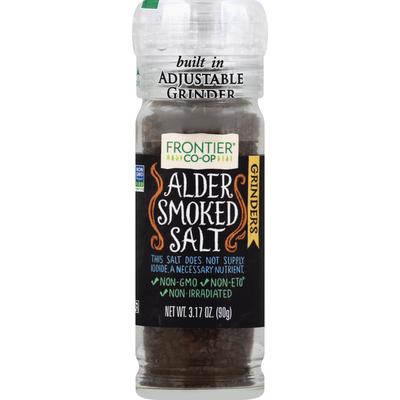 Frontier CO-OP Salt, Alder Smoked