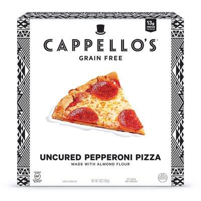 Cappello's Pizza, Grain Free, Pepperoni, Uncured