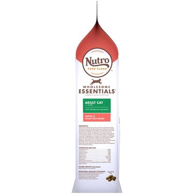 NUTRO Wholesome Essentials Adult Cat Salmon & Brown Rice Recipe Cat Food