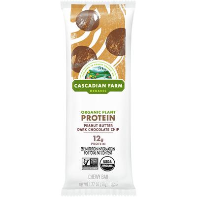 Cascadian Farm Chewy Bar, Organic, Peanut Butter Dark Chocolate Chip