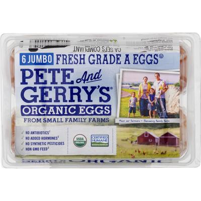 Pete And Gerry's Organic Eggs Jumbo Grade A Eggs