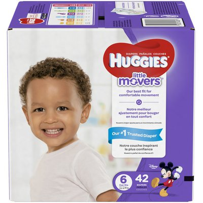 Huggies Little Movers Diapers