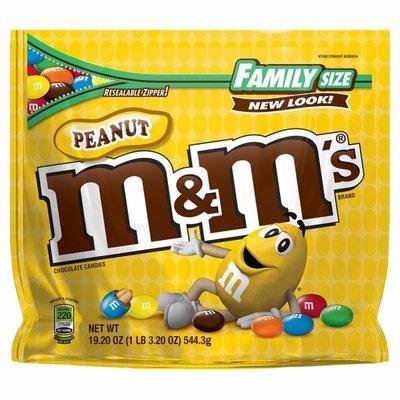 M&M's Peanut Milk Chocolate Candy