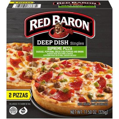 Red Baron Deep Dish Singles Supreme Pizza