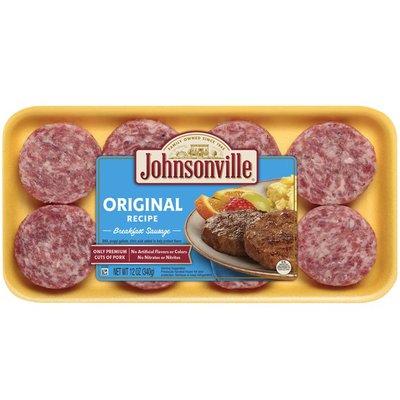 Johnsonville Sausage Original Breakfast Sausage Patties, 8 Count