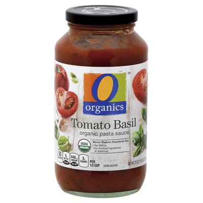 O Organics Tomato Basil Organic Pasta Sauce