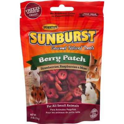 Higgins Sunburst Gourment Natural Treat Berry Patch For Small Animals