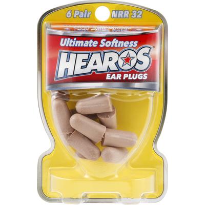 Hearos Ear Plugs, Ultimate Softness