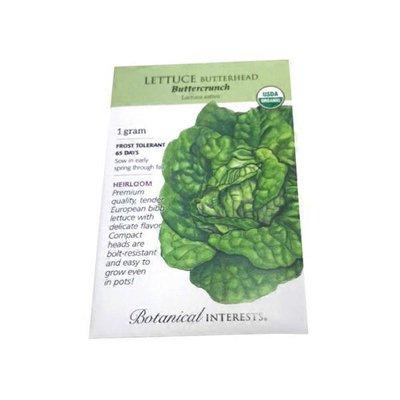 Botannical Interest Lettuce Romaine Parris Island Cos Certified Organic Heirloom Seeds