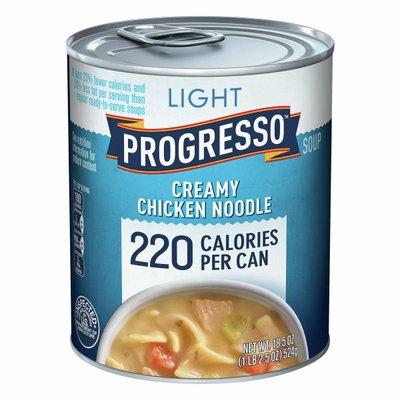 Progresso Light, Creamy Chicken Noodle Soup