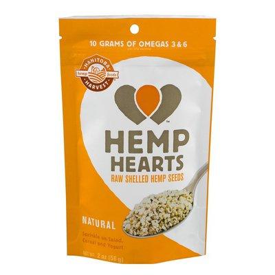 Manitoba Harvest Hemp Hearts Raw Shelled Hemp Seeds Natural