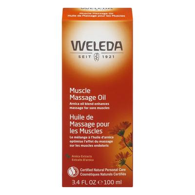 Weleda Massage Oil, Muscle, Arnica