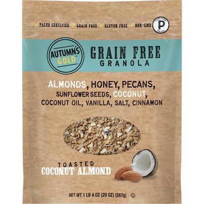 Autumn's Gold Grain Free Toasted Coconut Almond Granola