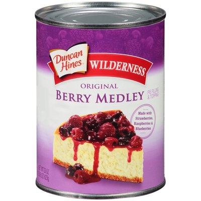 Duncan Hines Original Berry Medley Pie Filling & Topping