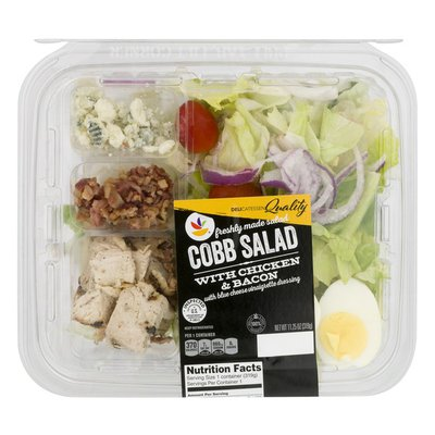 SB Cobb Salad with Chicken & Bacon and Blue Cheese Vinaigrette Dressing